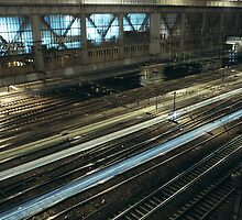 Railroads, Paris by 64iso