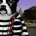 Boston Terrier Mime by derackm