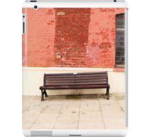 Bench - Poole iPad Case/Skin