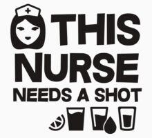 This nurse needs a shot by masonsummer