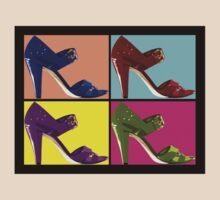 Steps Into Pop Art  by Johanne Brunet