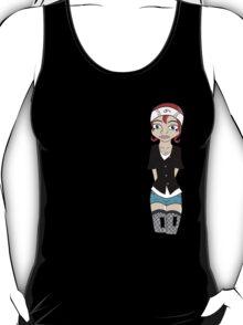 Graffiti/Cartoon Girl T-Shirt