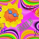 Peace, Love, Smile, Joy by Virginia N. Fred