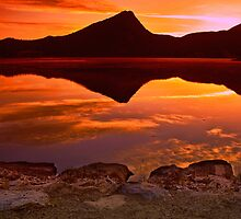 A Fiery Dawn by John  De Bord Photography