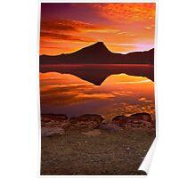 A Fiery Dawn Poster
