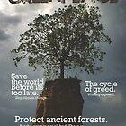 Greenpeace Magazine Cover by Joe Matter