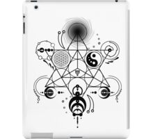 Sacred Crops -Black iPad Case/Skin