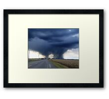 Touchdown! Framed Print