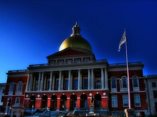 Massachusetts State House by LudaNayvelt