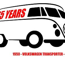 VW Transporter 65 years by car2oonz