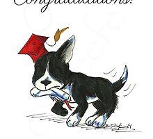 Terrier Grad by KOKeefeArt