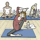 Yoga for beginners! by MissIllustrator