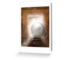 Charging by Moonlight Greeting Card