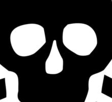 Skull crossed bones Sticker