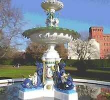 Fountain In Vivary Park by Rosemariesw