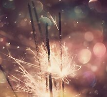 Sparkler and Colorful Bokeh by AnnArtshock