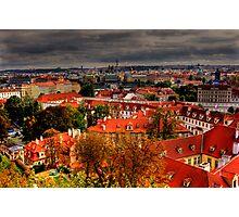 Brilliant Rooftop Vista Photographic Print