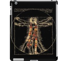 Da Vinci Meets the Doctor (Dark colors) iPad Case/Skin