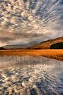 Winter Sky, Loch Cill Chriosd, Isle of Skye, Scotland. by photosecosse /barbara jones