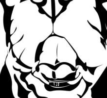 French Bulldog Graphic Translation Sticker