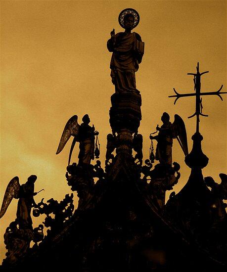 HOLY SILHOUETTE by Scott  d'Almeida