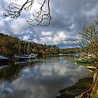 Helford River Cornwall UK  by lynn carter