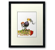 Clash of Clans - Wallbreaker Framed Print