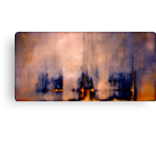 Between the Darkness and the Light Canvas Print
