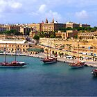 Valetta Harbour by Tom Gomez