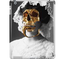 Golden skull iPad Case/Skin