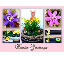 Easter Greetings Photographic Print