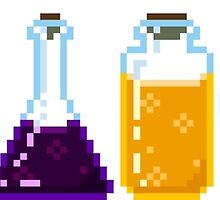 Pixel Potions by FlamingInk