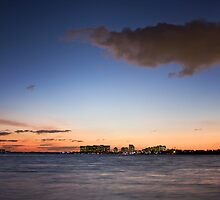 A beautiful Florida winter sunset by fotomak