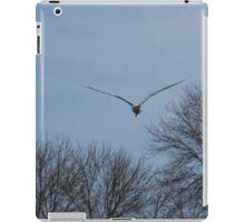 Seagull Over Trees iPad Case/Skin