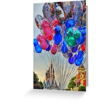 Balloons on Main Street Greeting Card