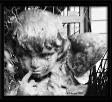 Little Girl Statue by kimbeaux1969