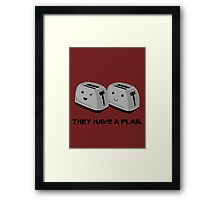 Toasters Framed Print