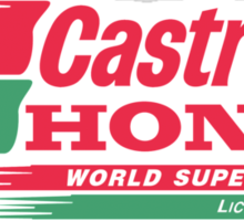 castrol honda Sticker