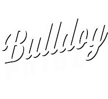 Bulldog Pride Photographic Print