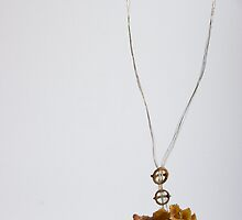 fine sapphic necklace 2008 by susescholem