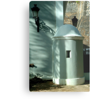 Guard House, Old San Juan, Puerto Rico Metal Print