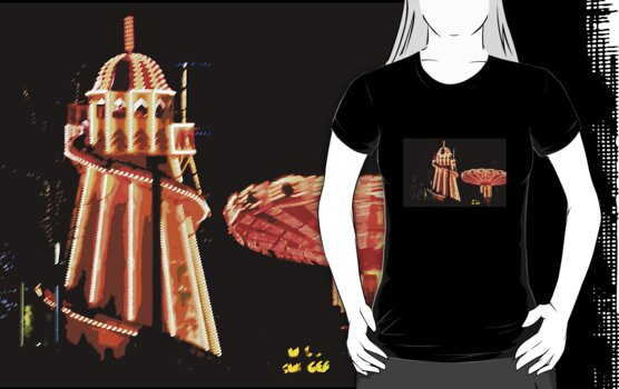 T Shirt Helter Skelter by Linda More