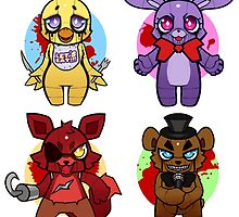 Five nights at Chibi by Affanita
