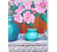Camelia still life 2 iPad Case/Skin
