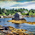 Blue Rocks, Nova Scotia by Amanda White