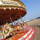 Carousel on Brighton Beach by pcimages