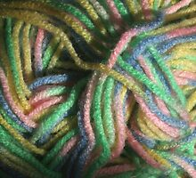 Multicolored Yarn by Stephen Thomas