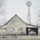 Buick In Barn by Ben Kern