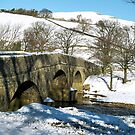 Bridge to Askrigg over the River Swale by clickinhistory