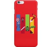 marvel avengers iPhone Case/Skin